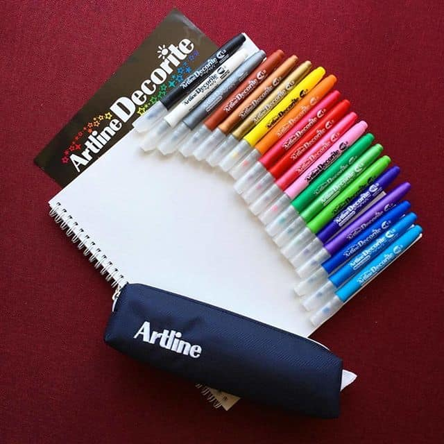 Bút Màu Nổi