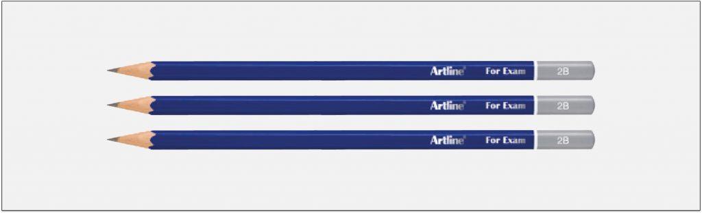 EP-2B-Bút-chì-gỗ-2b-màu-đậm-Artline-Japan