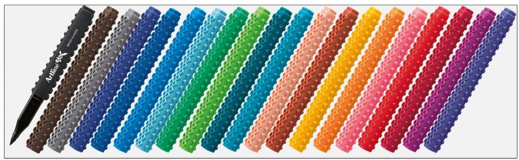 ETX-F-bút-thư-pháp-ngòi-brush-lắp-ráp-lego-artline-Japan
