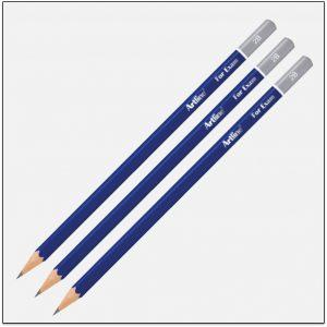 EP-2B Bút chì gỗ 2b màu đậm