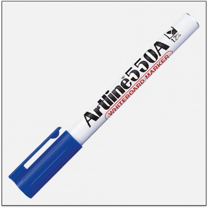EK_550A_BLUE-Bút-viết-bảng-ngòi-nhỏ