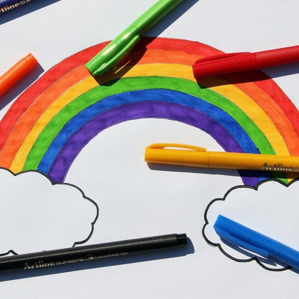 bút tô màu Artline